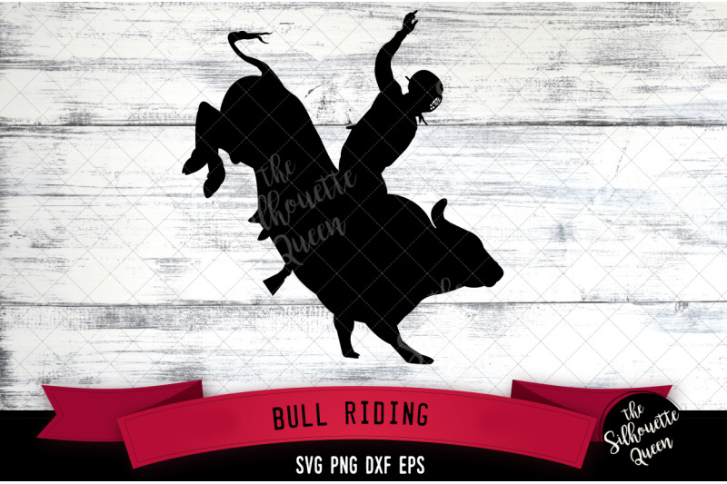 Bull Rididng Svg File Rodeo Cowboy Western Svg Cut File