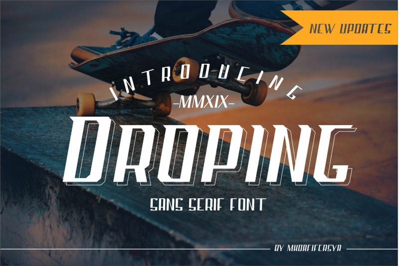 droping-sans-font