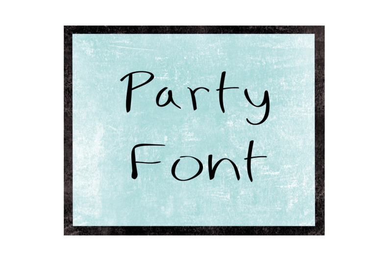 party-style-font
