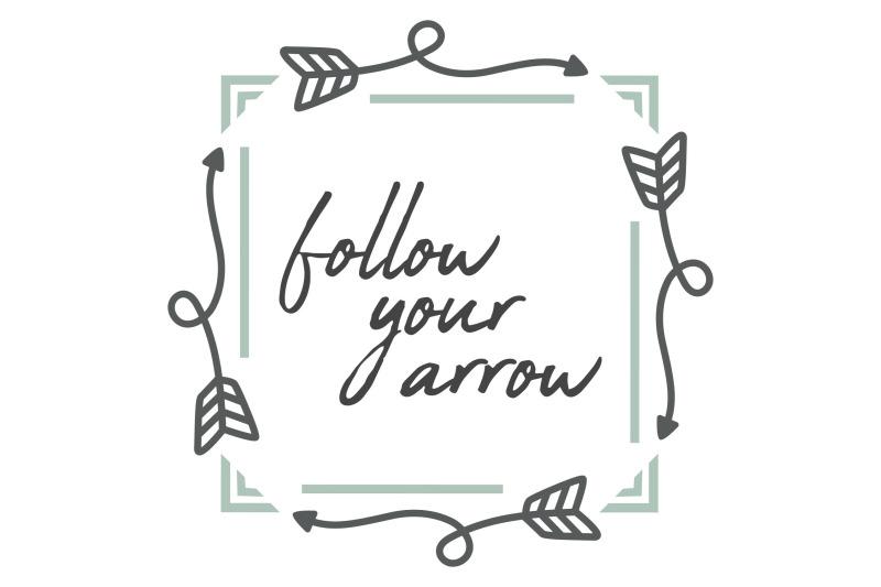 follow-your-arrow-svg-png-eps