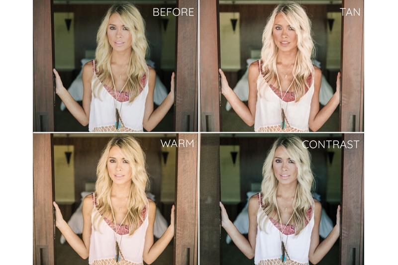 blonde-lightroom-desktop-presets