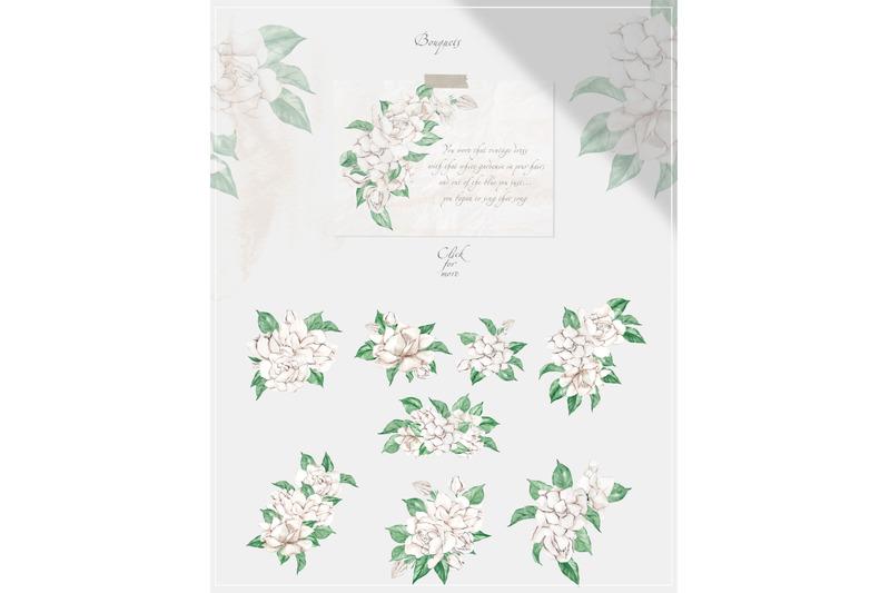 garden-of-gardenia-watercolor-delicate-flowers