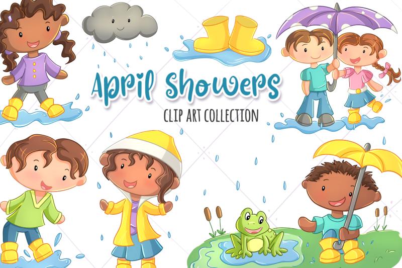 april-showers-clip-art-collection