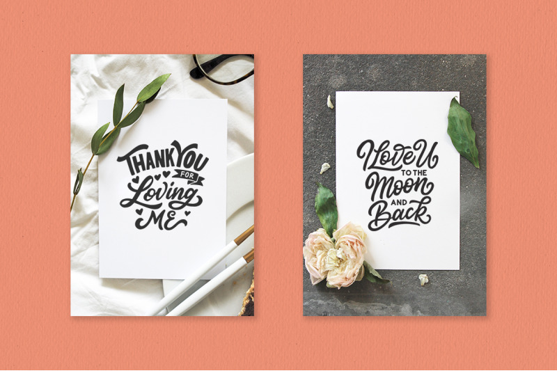 Love Day Lettering Quotes By Weape Design Thehungryjpeg Com