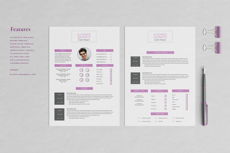 alexander-resume-template
