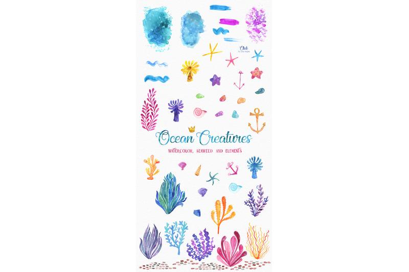 ocean-friends-watercolor-clipart