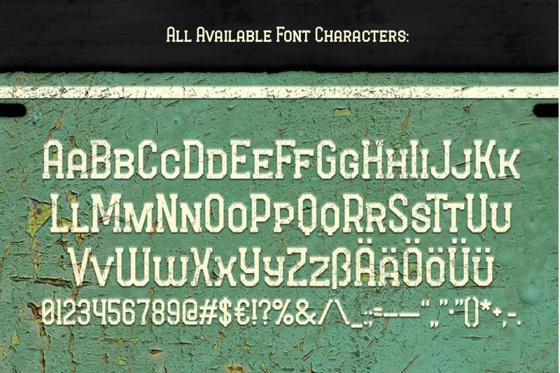 long-ride-font-amp-mockup