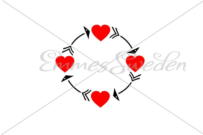 heart-monogram-circle