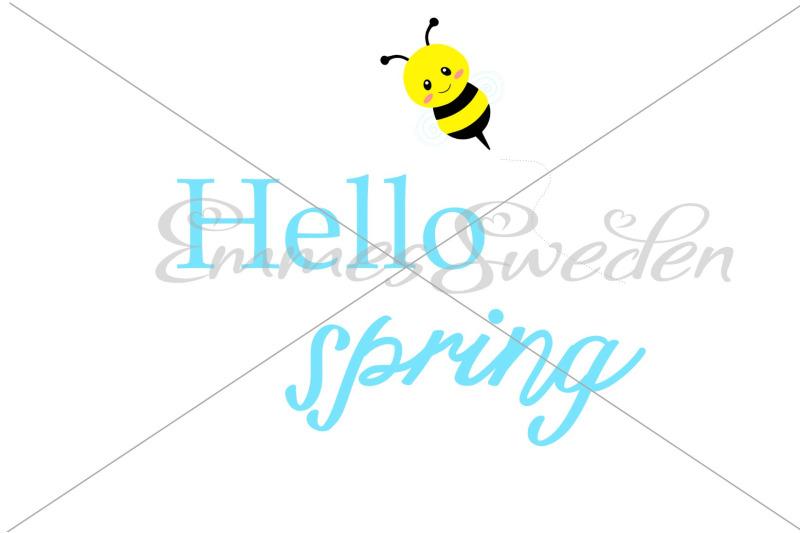 hello-spring-bee-svg