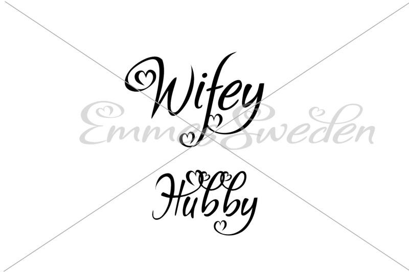 hubby-wifey-svg