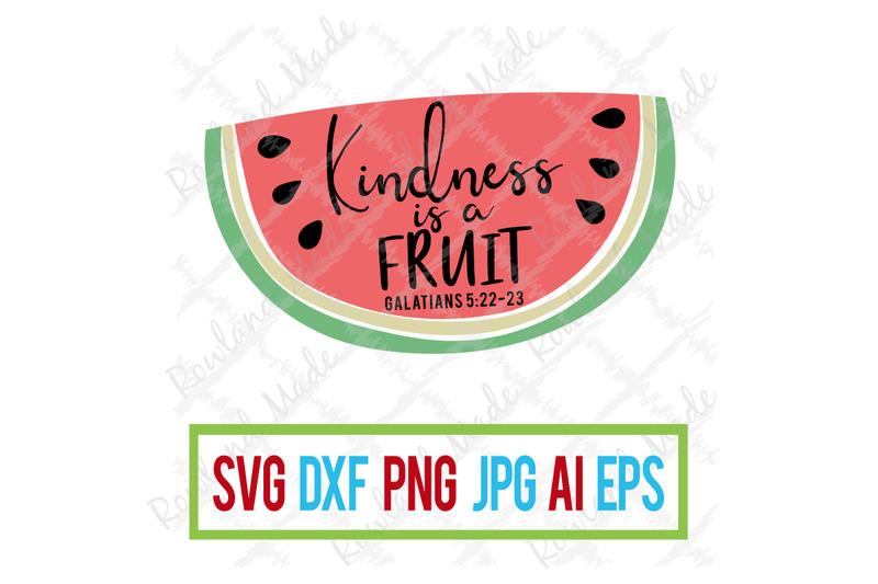 kindness-is-a-fruit-svg-bible-svg