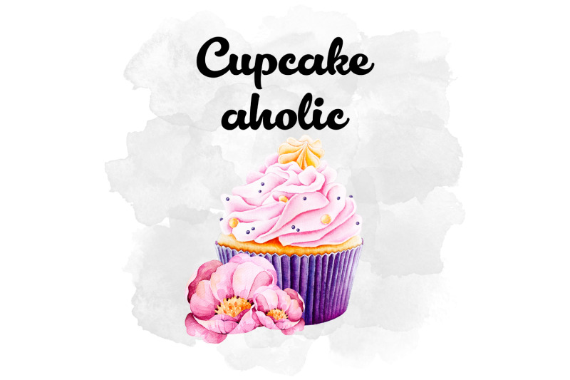 cupcake-watercolor-design