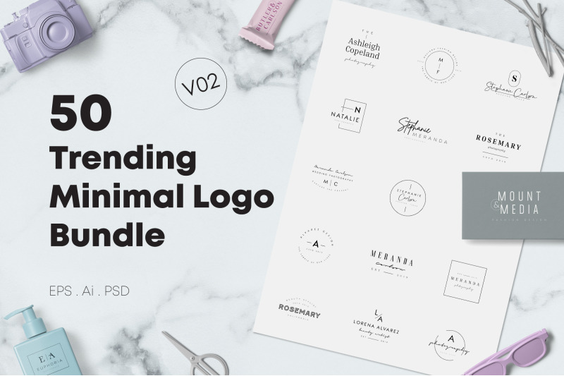 50-trending-minimal-logo-bundle-v02