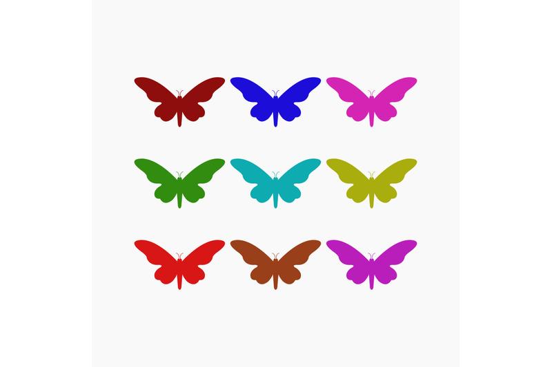 set-of-butterflies