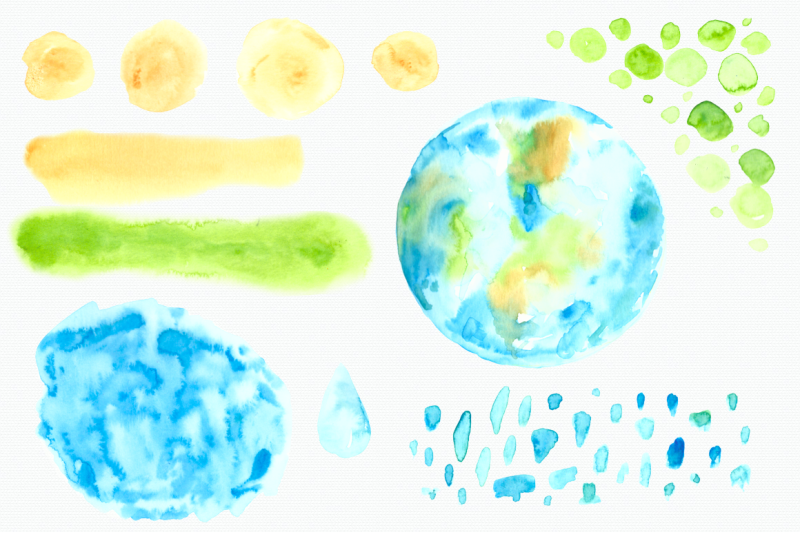 watercolor-earth-day-clip-art-and-posters