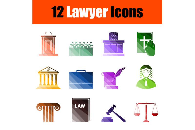 lawyer-icon-set