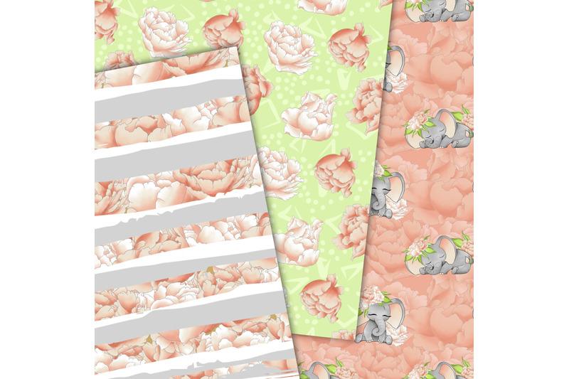 baby-elephant-pattern-in-peach