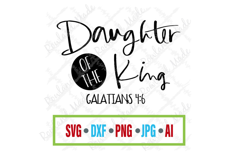 daughter-of-the-king-svg