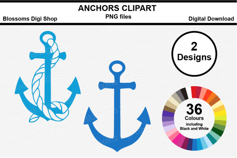 anchor-clipart-multi-colours-72-png-files