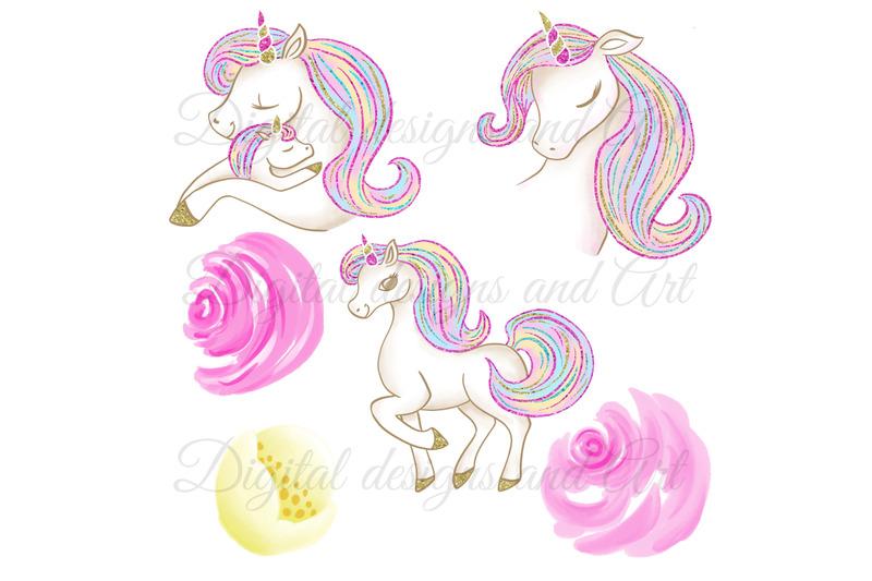 cute-unicorns-clipart