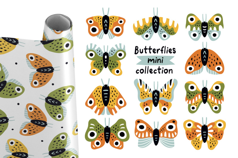 butterflies-mini-collection