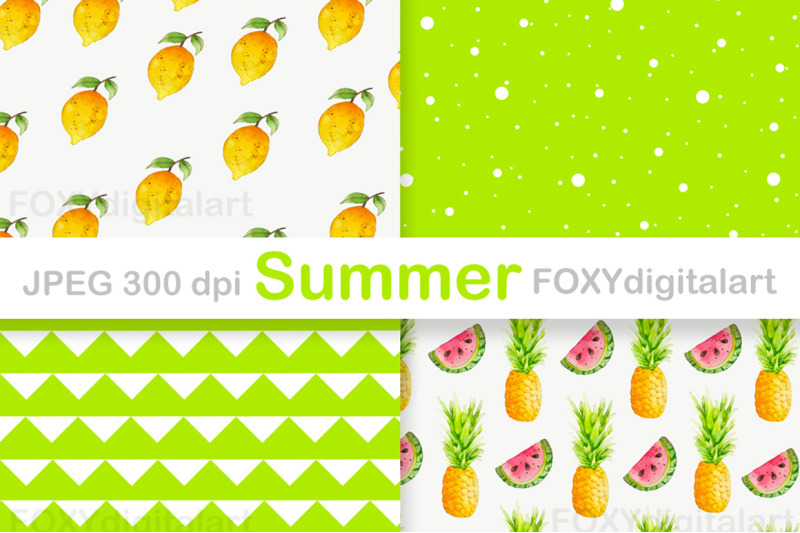 summer-holiday-tropical-digital-paper-pack