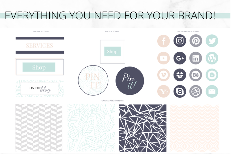canva-turquoise-web-branding-kit