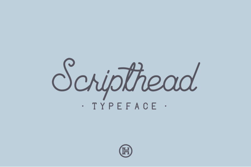 scripthead-typeface