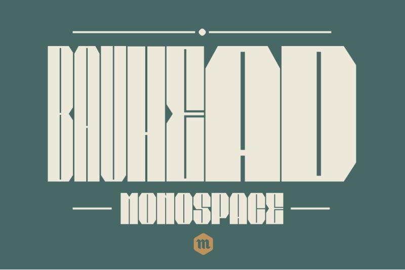 bauhead-typeface