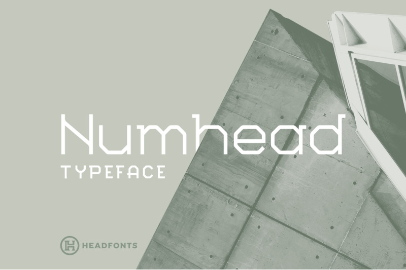 numhead-typeface