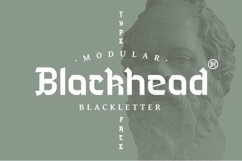 blackhead-typeface