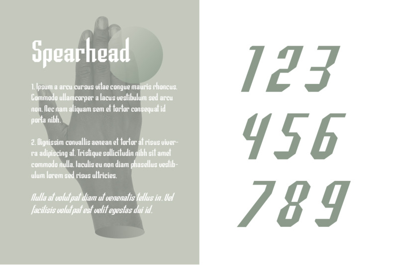 spearhead-typeface