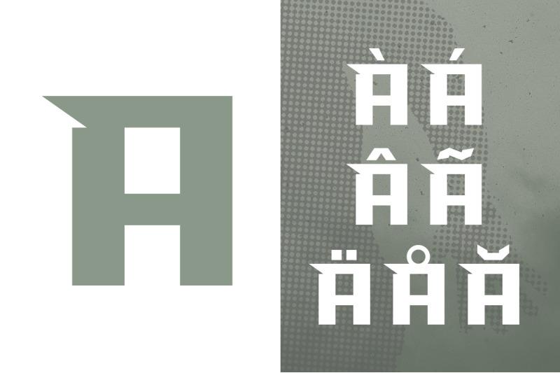 overhead-typeface