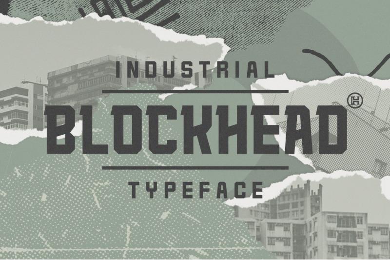 blockhead-typeface