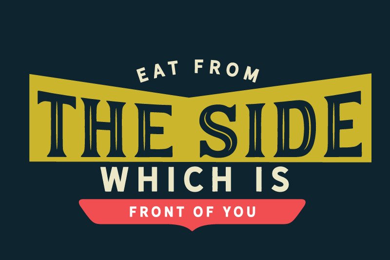 eat-from-the-side-which-is-front-of-you