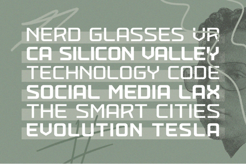 techead-typeface