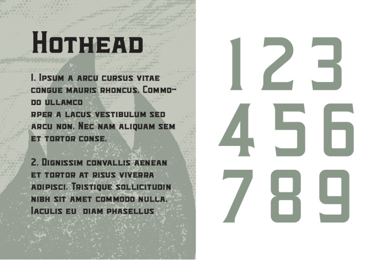hothead-typeface