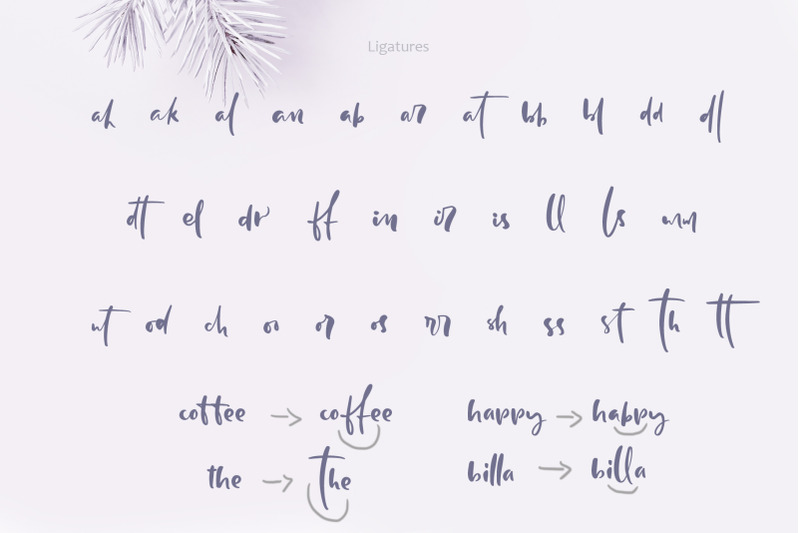 holly-jolly-hand-drawn-font