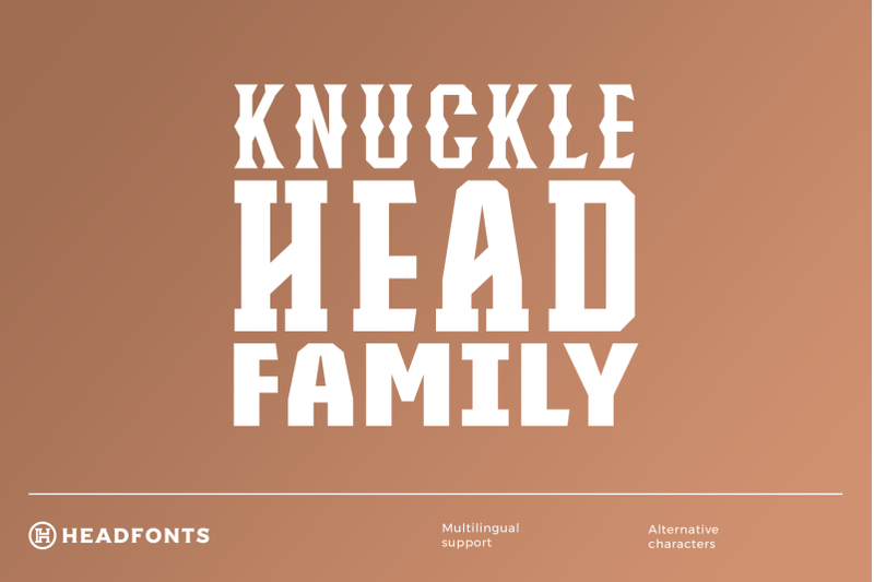 knucklehead-font-family