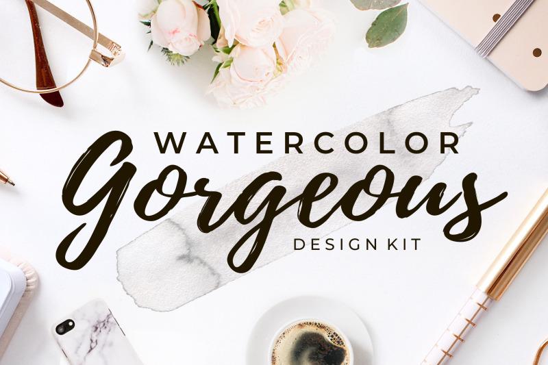 gorgeous-watercolor-design-kit