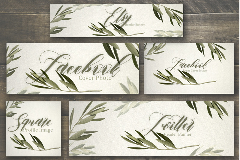 set-of-premade-social-media-template-banners-5-olive-tree-backgrounds