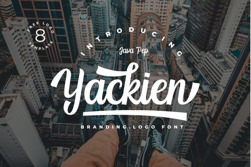 yackien-logo-font