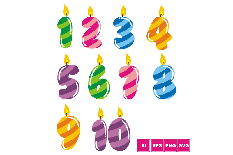 colorful-birthday-numbers