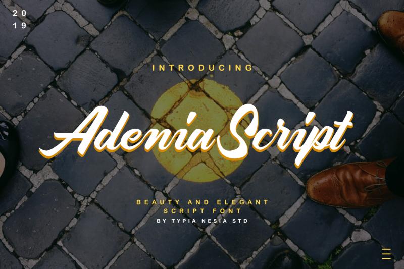 adenia-script