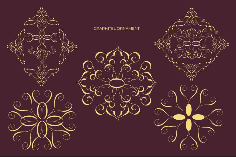 graphitel-script-ornament