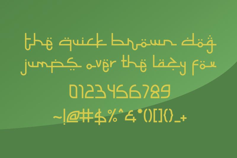 selamet-lebaran-arabic-fauxlang-font