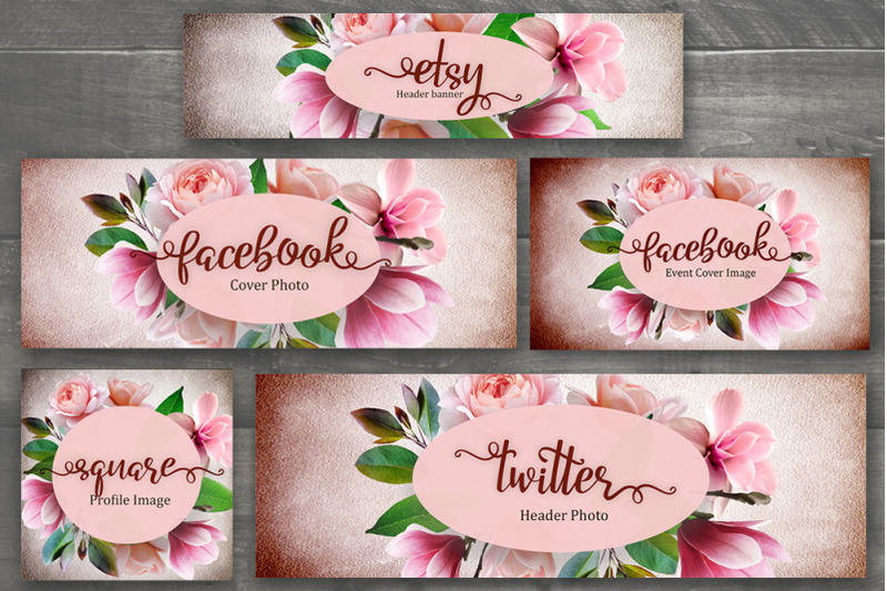 set-of-premade-social-media-template-banners-with-boho-flowers