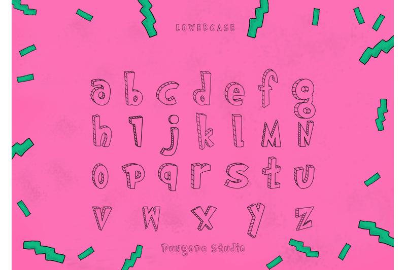 reptiles-typeface