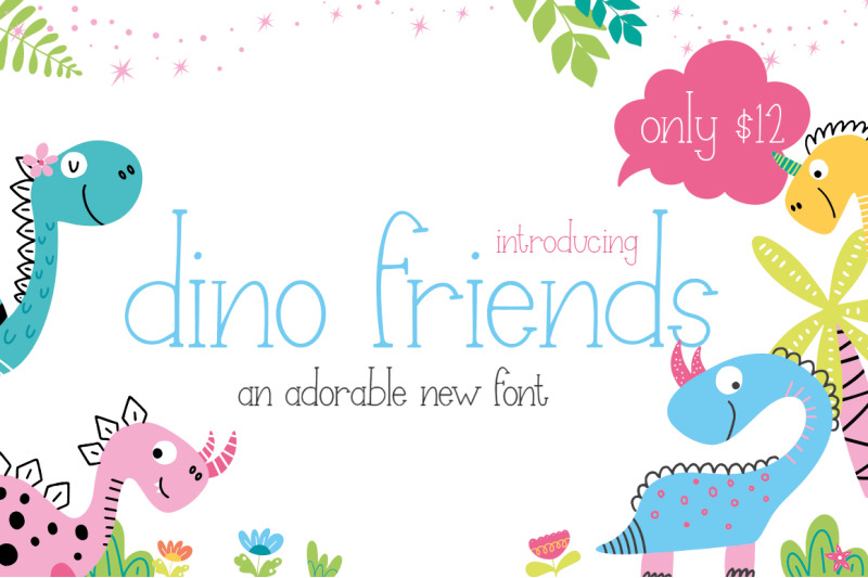 dino-friends-font