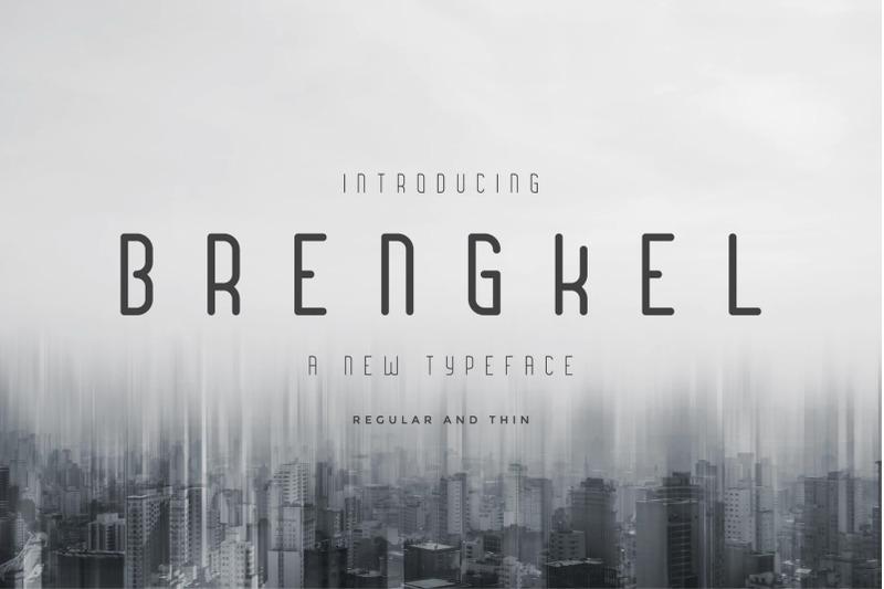 brengkel-condensed-font